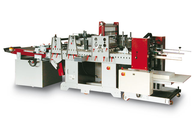 Petratto Metro Folding, Gluing and Creasing Machine