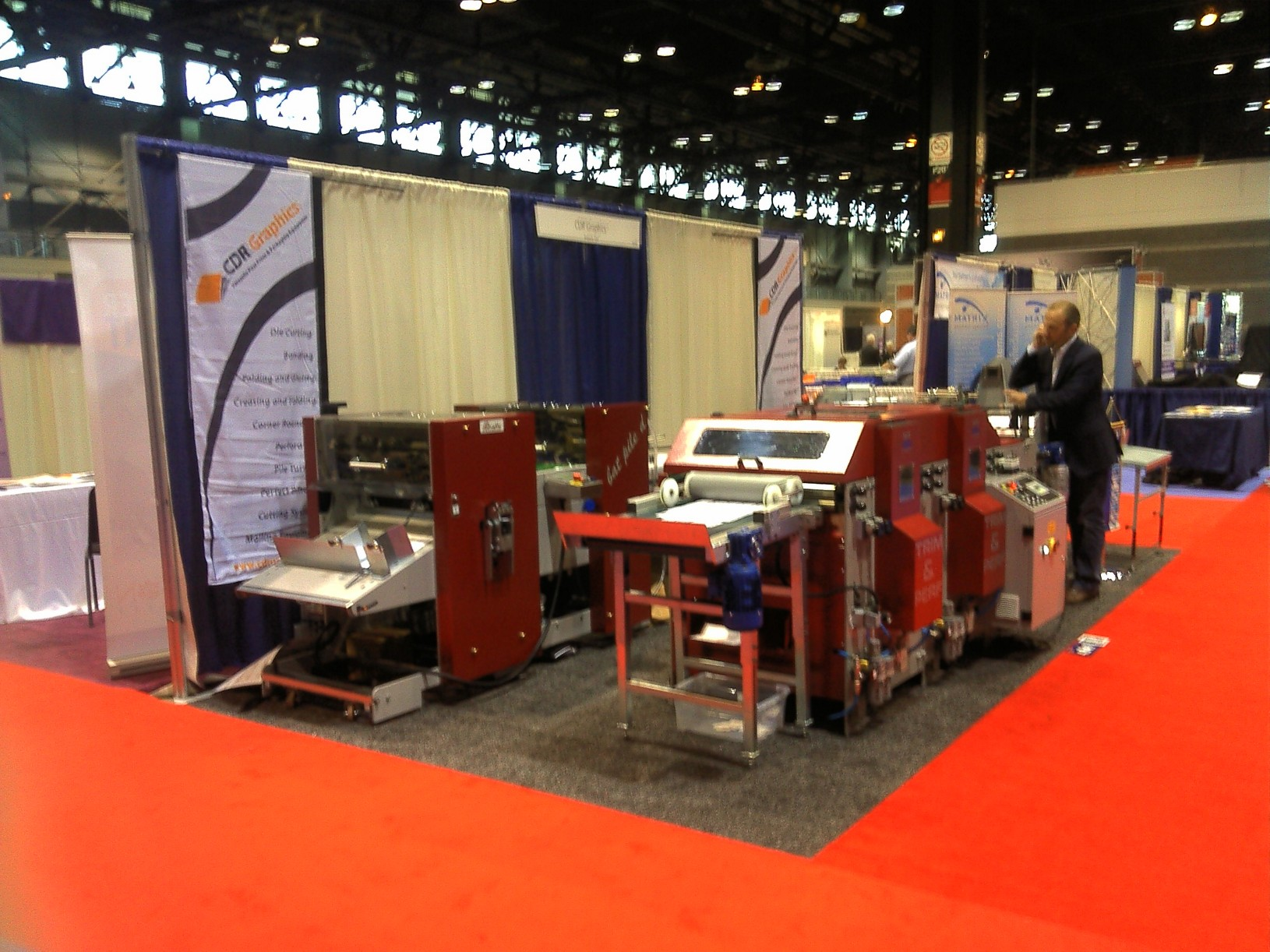 Visit Us at the Graph Expo October 7-12, 2012  Booth 4841