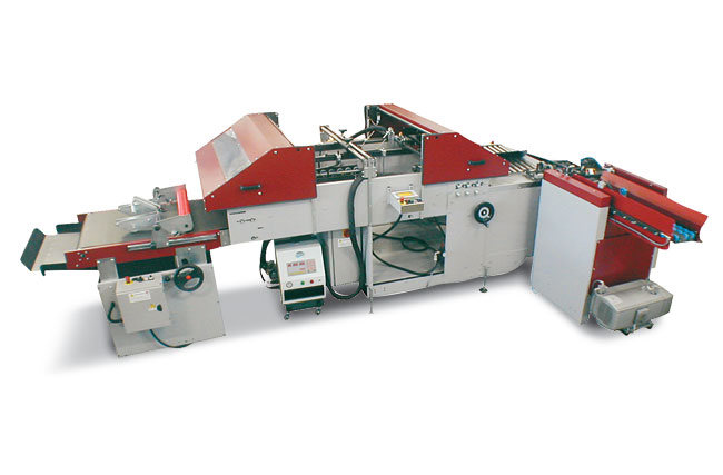 Petratto SAB Folding, Gluing, Circular Scoring Machine