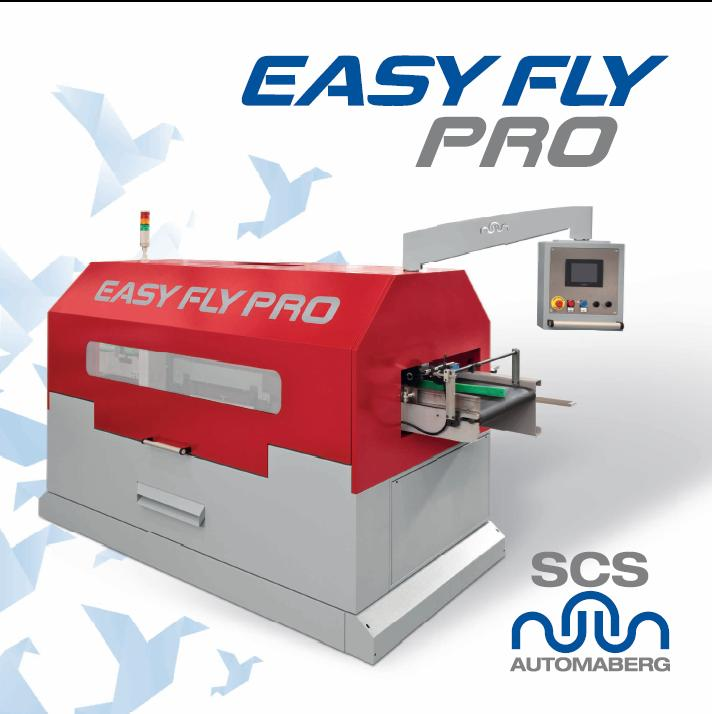 Easy Fly Pro binding machine by SCS Automaberg